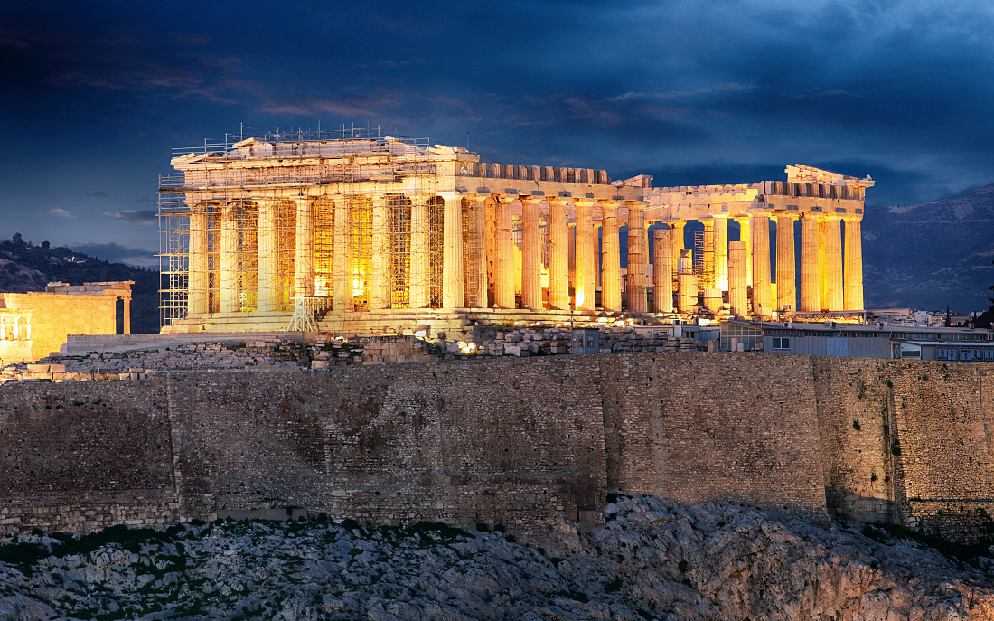 Athens - Acropolis at night