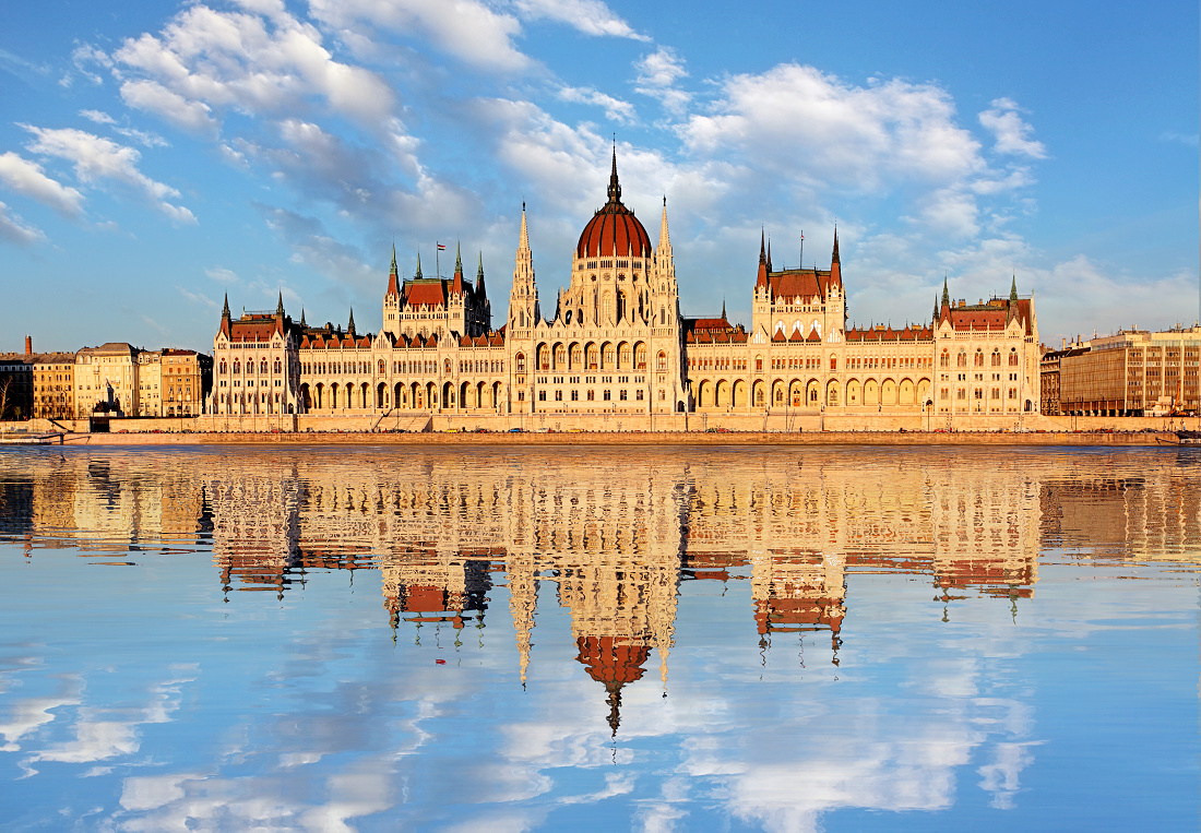 Budapest - Parliament with Danube