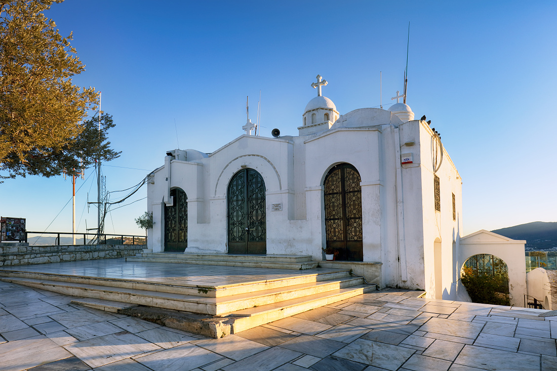 Chapel Saint George´s on Mount Lycabettus
