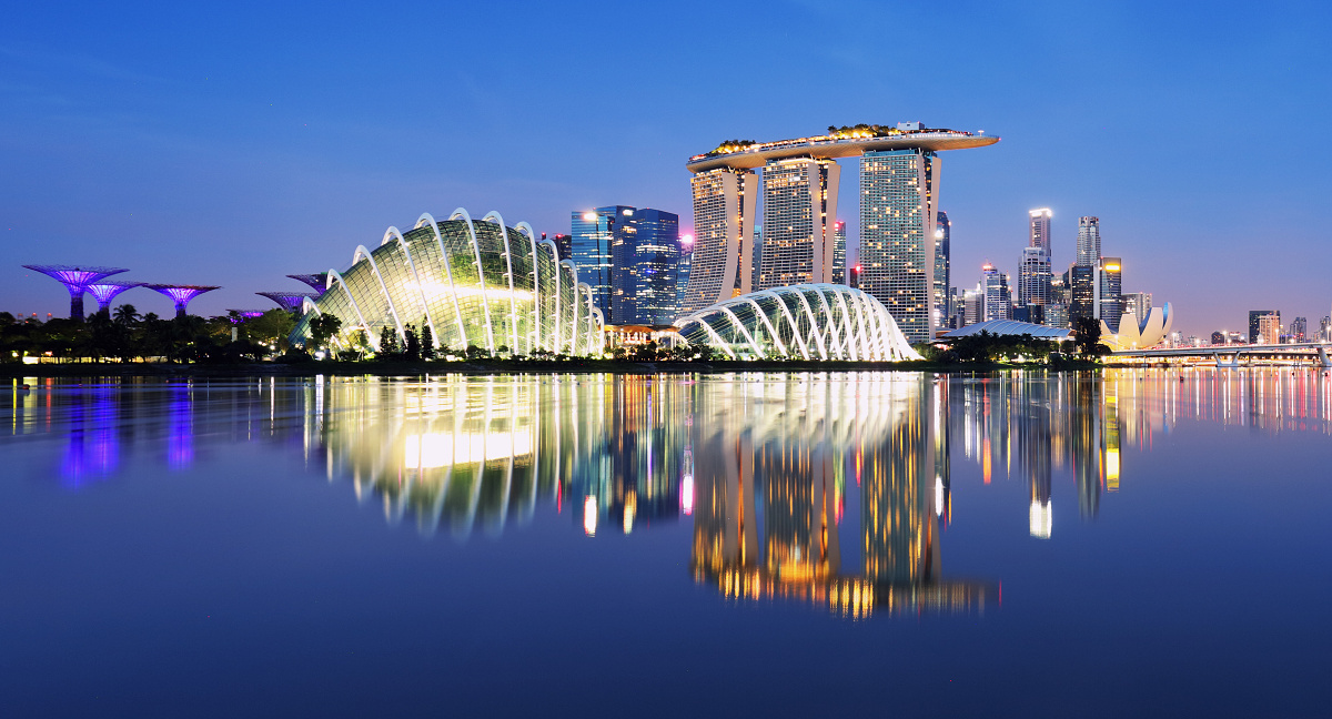 Marina Bay sands Hotel - Singapore