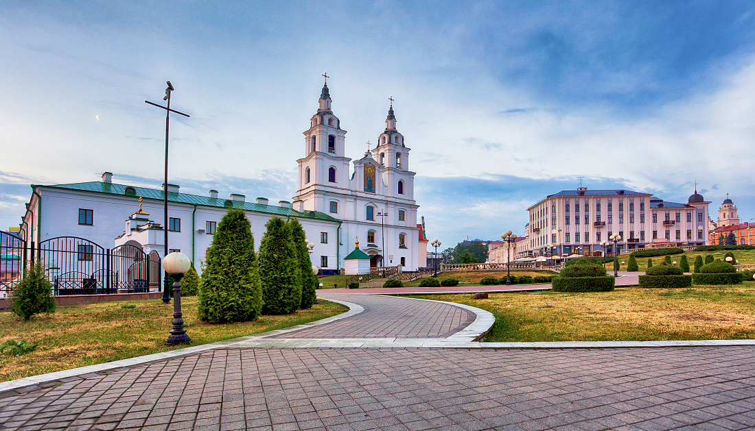 Minsk - Orthodox Cathedral of Holy Spirit