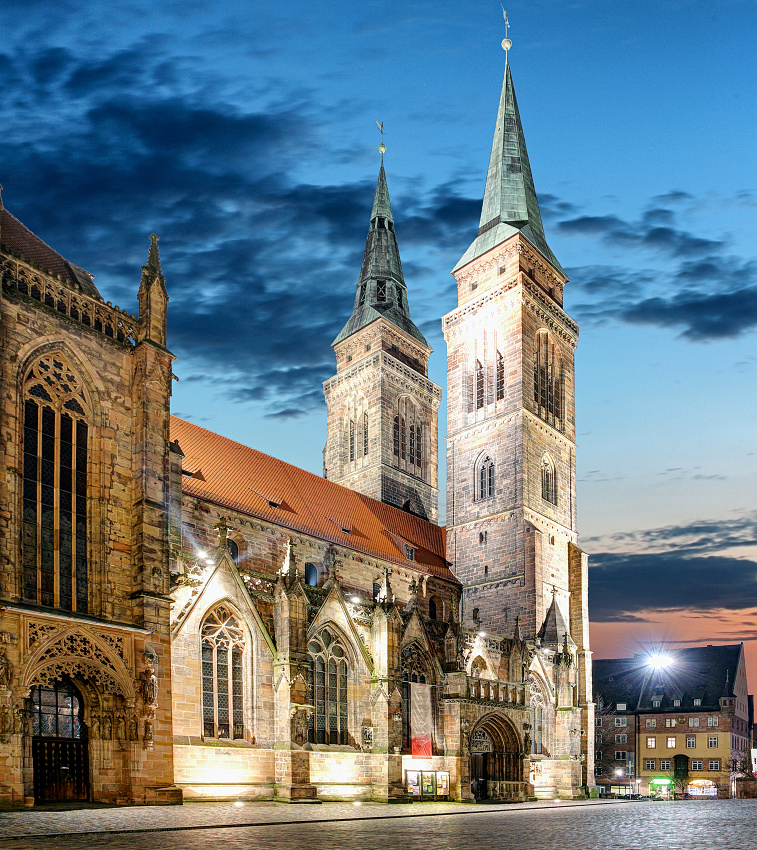 St. Lawrence church in Nuremberg