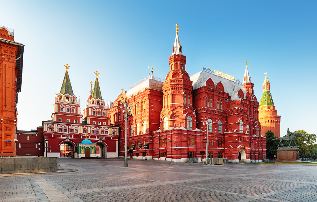 State Historical Museum in Red Square