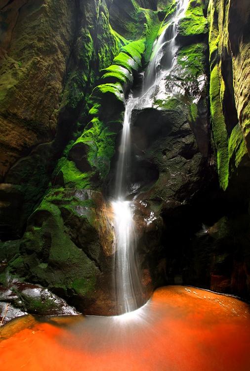 Veľký adršpašský vodopád