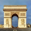 Arch of Triumph, Paris.
