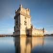 Belem tower with reflection