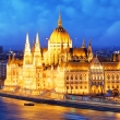 Budapest at night - Parliament