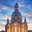 Frauenkirche in Dresden at night