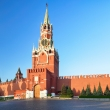 Kremlin wall with Spassky tower