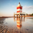 Lighthouse on beach - Lignano