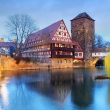 Nuremberg - Riverside of Pegnitz river