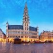 Panorama od Grand Place, Brussels