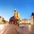 Panorama of Krakow - Market Square