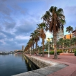 Promenade in the Marina of Alicante