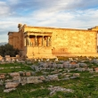Ruins of Erechtheion temple