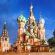 St. Basil´s Cathedral in Moscow