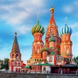 St. Basil´s Cathedral on Red Square