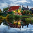 Traditional house in Zaanse Schans