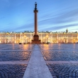 Winter Palace - Hermitage at night,