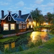 Zaanse Schans at night